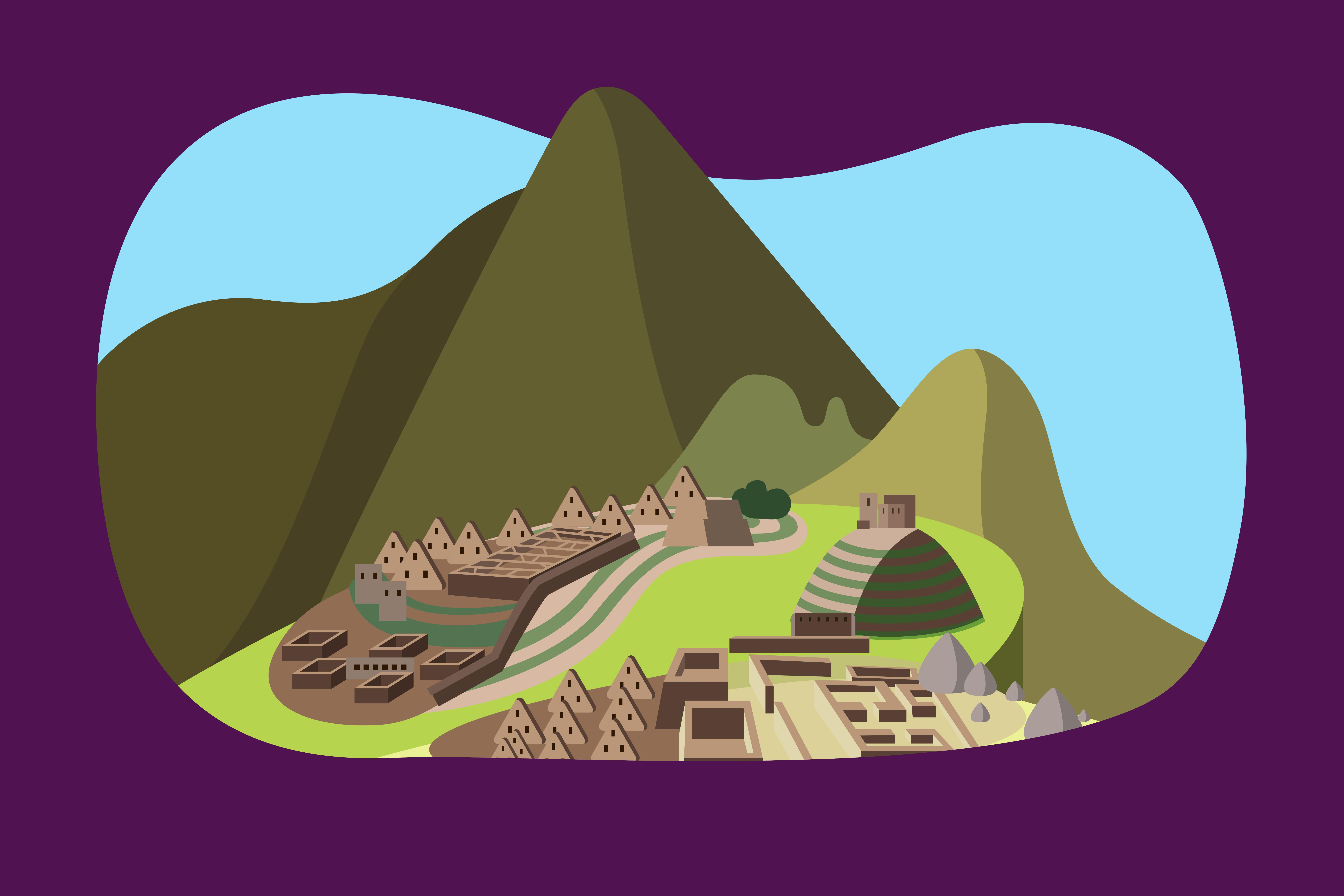 Ruinele incase de la Machu Picchu