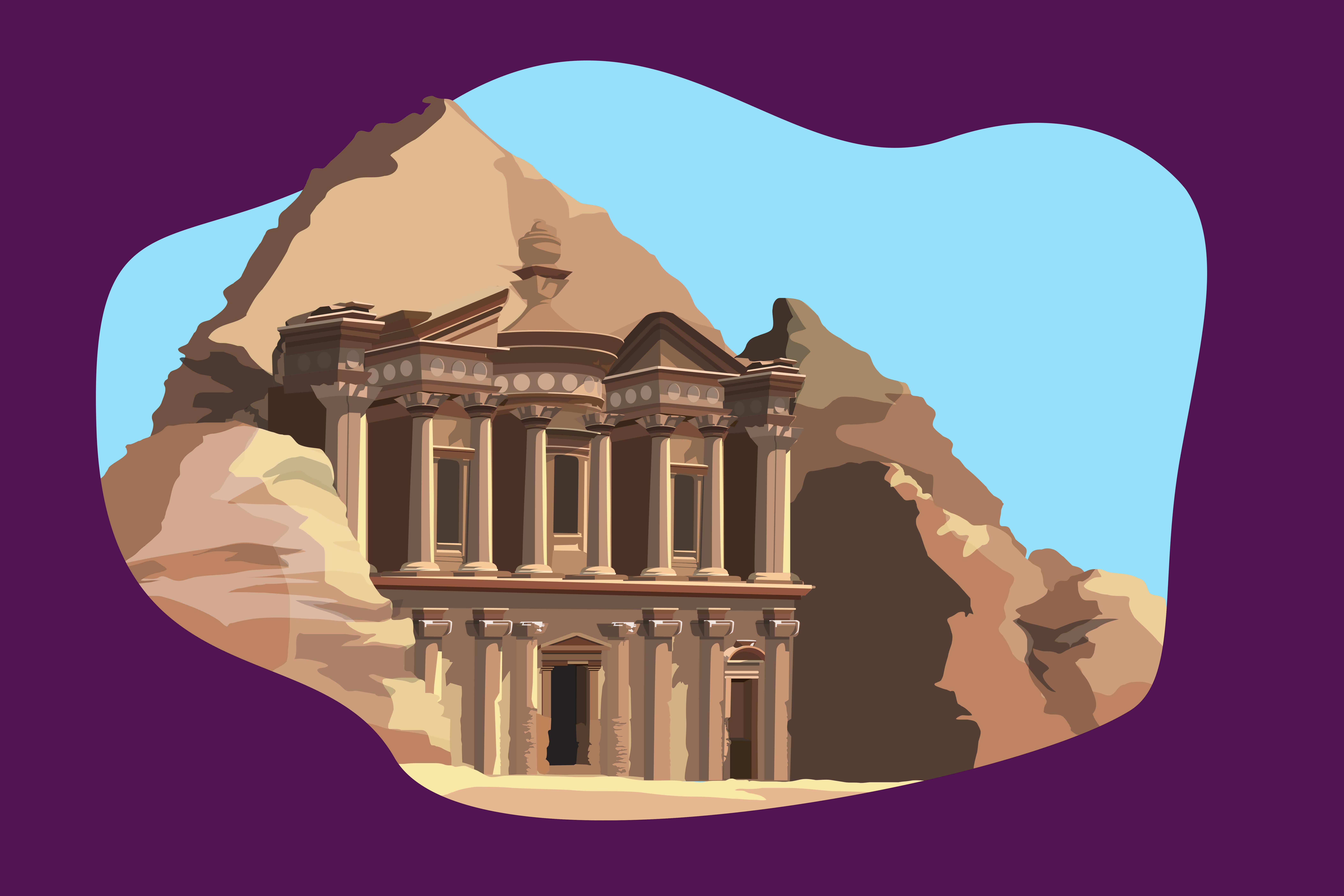 Obiectivul arhielogic de la Petra