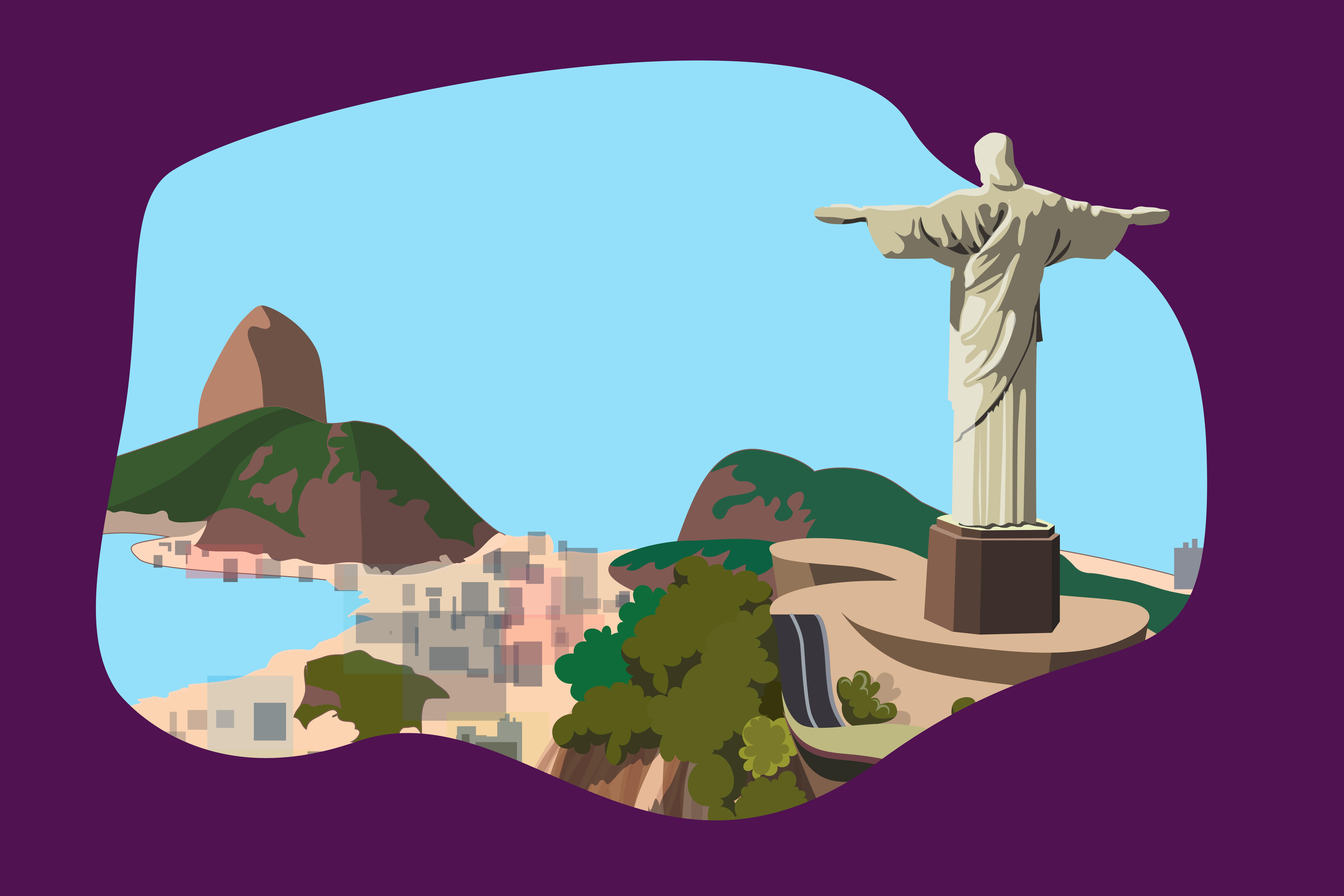 Statuia lui Iisus Mantuitorul din Rio de Janeiro